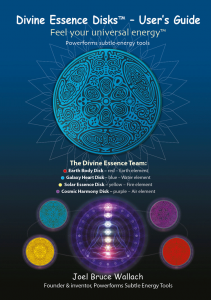 Powerforms Divine Essence Water